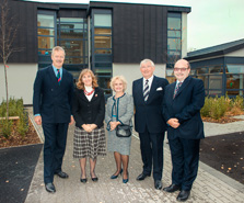 Official opening of Etheridge Hall