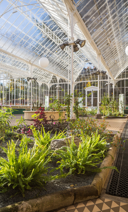 Wentworth Castle Glasshouse wins a Civic Trust AABC conservation award