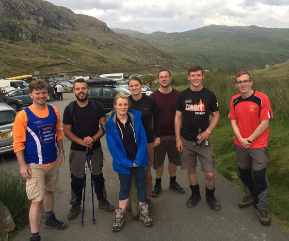 Buttress Three Peaks Challenge