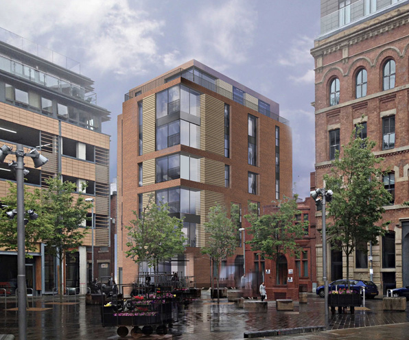 Planning consent for new Ancoats development | Buttress Architects