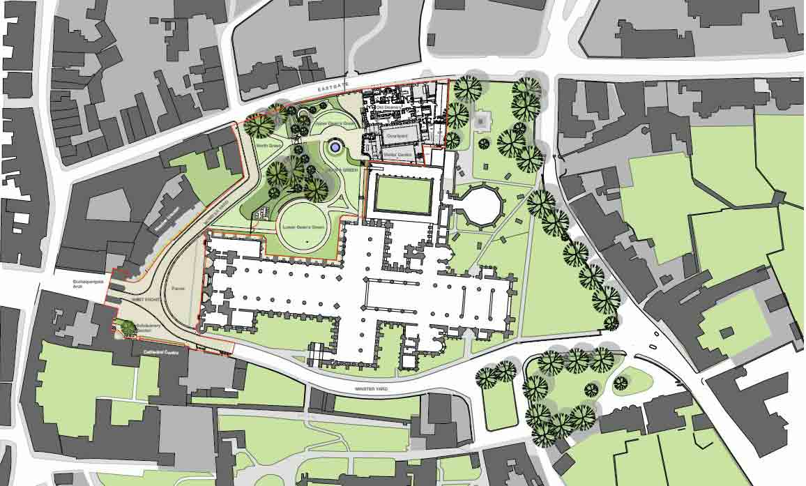 Planning approval granted for HLF project at Lincoln Cathedral | Buttress Architects