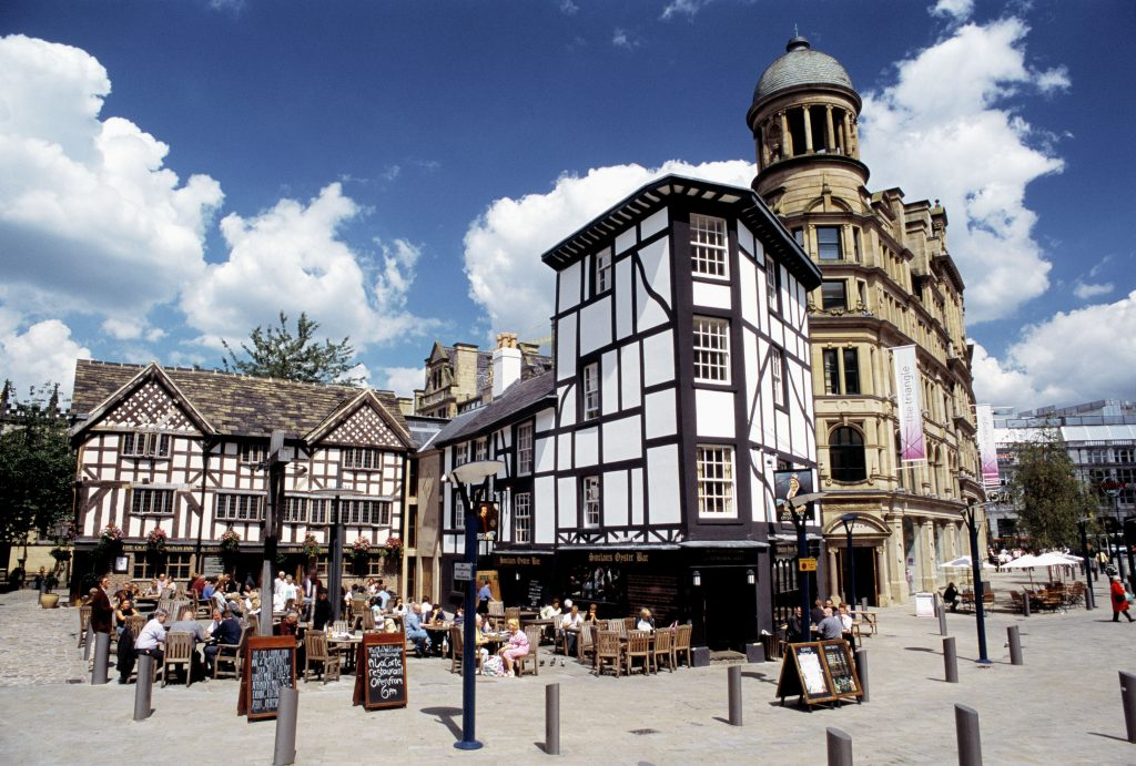 Buttress celebrates 20th anniversary of Old Shambles relocation