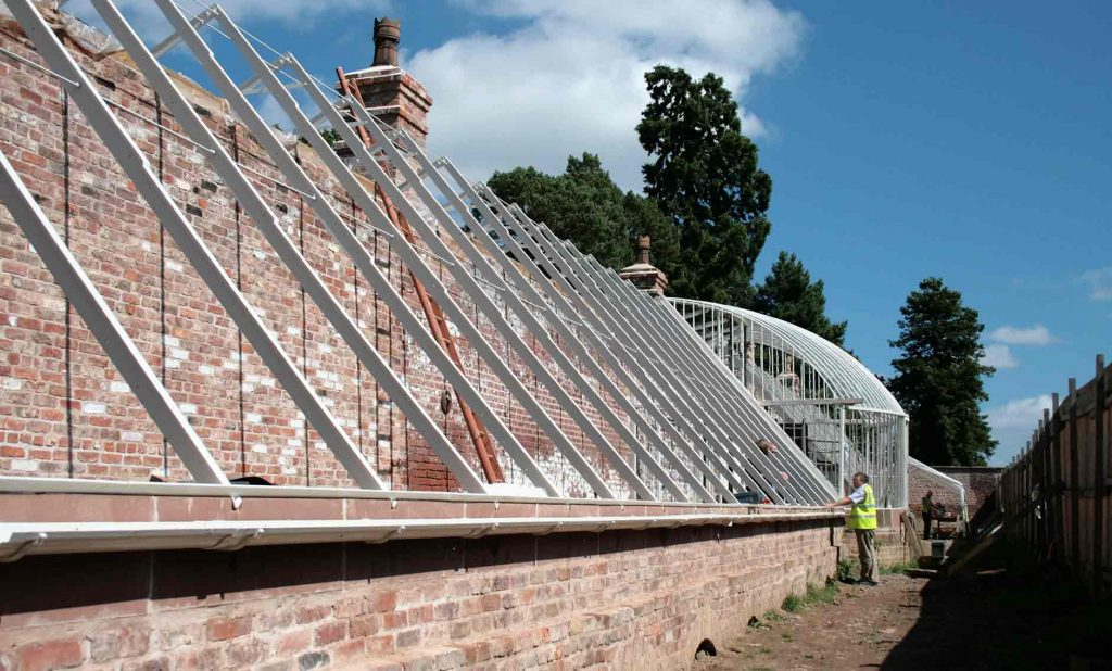 Work completes on Quarry Bank glasshouse restoration
