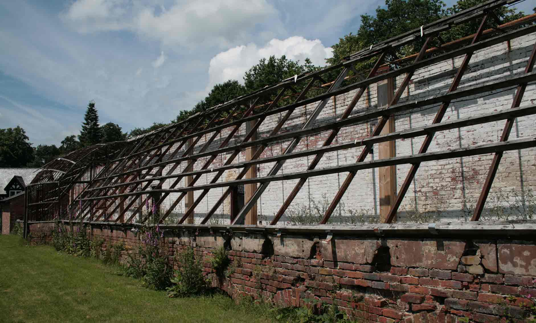 Work completes on Quarry Bank glasshouse restoration   Buttress Architects