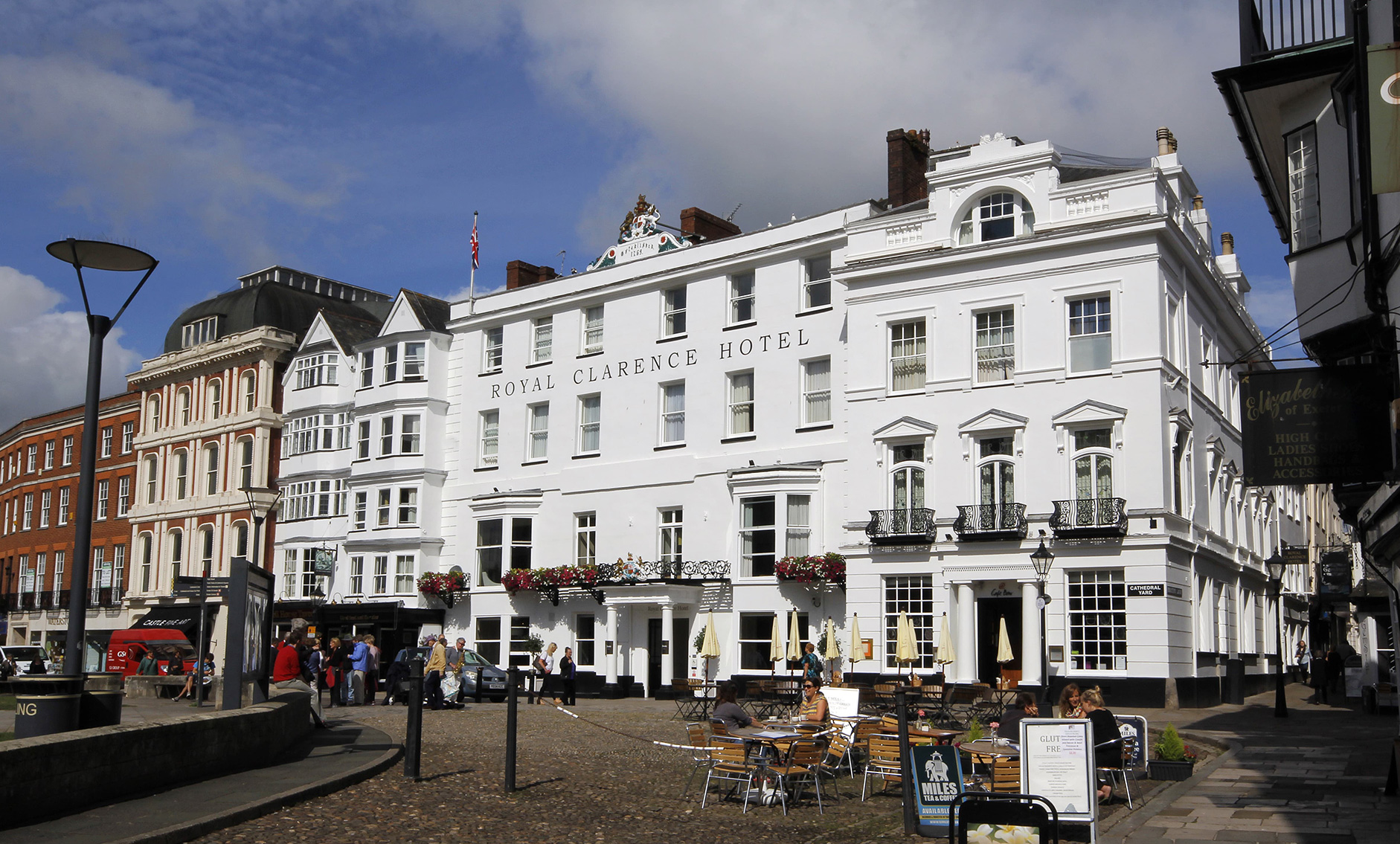 Buttress appointed to The Royal Clarence hotel restoration   Buttress Architects