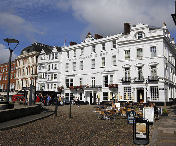 Buttress appointed to The Royal Clarence Hotel restoration