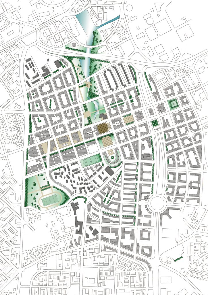 A masterplan for Hulme, Manchester, by Buttress Architects
