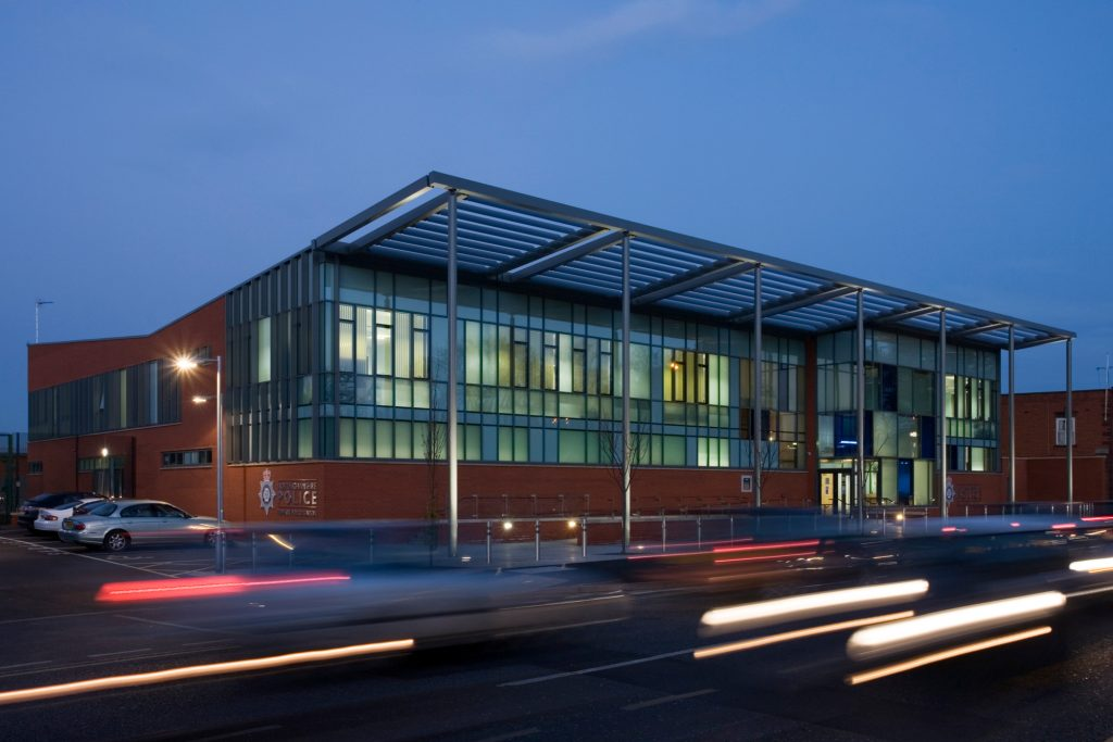 Newark Police Station, designed by Buttress Architects