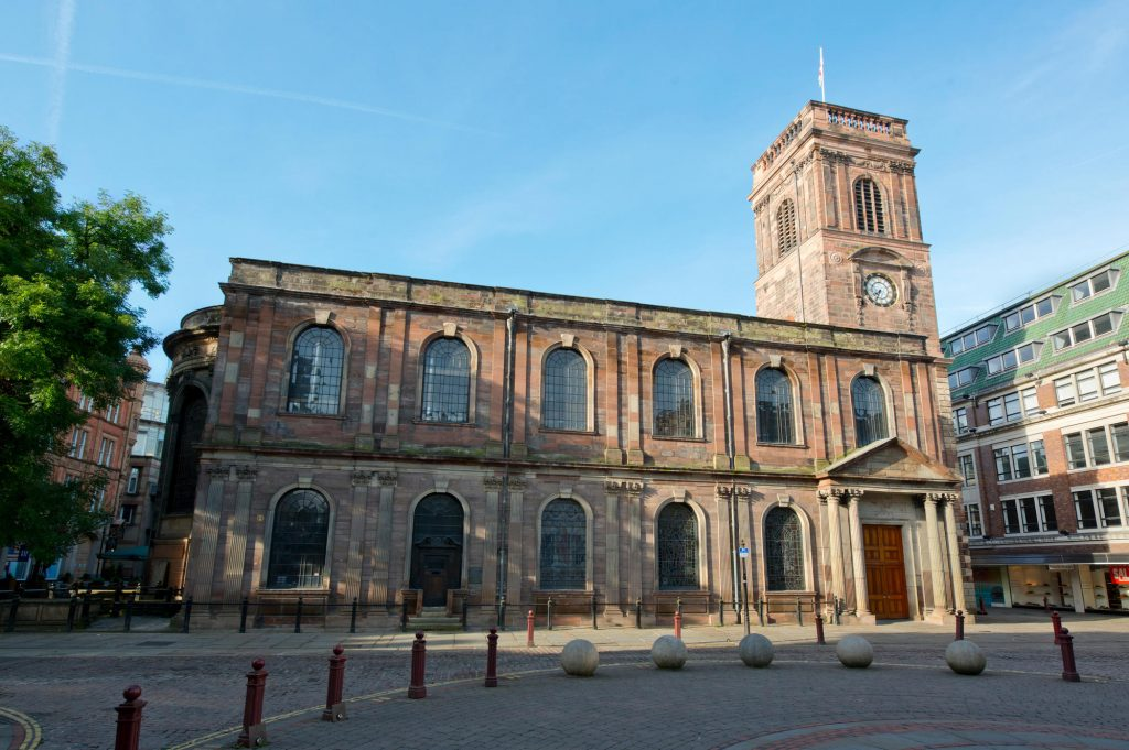St Ann's Church, Manchester, a project by Buttress Architects