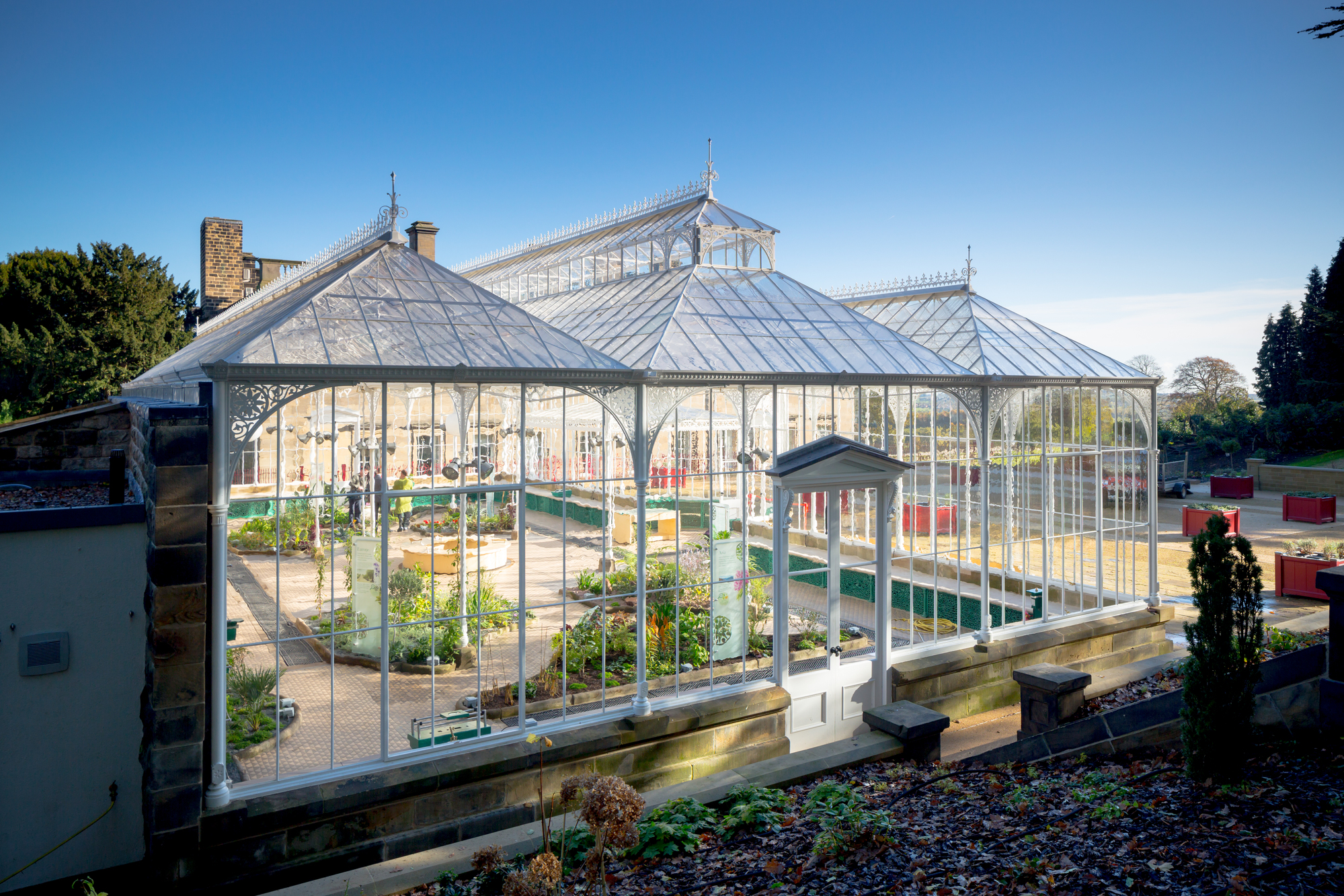 Wentworth Castle Glasshouse