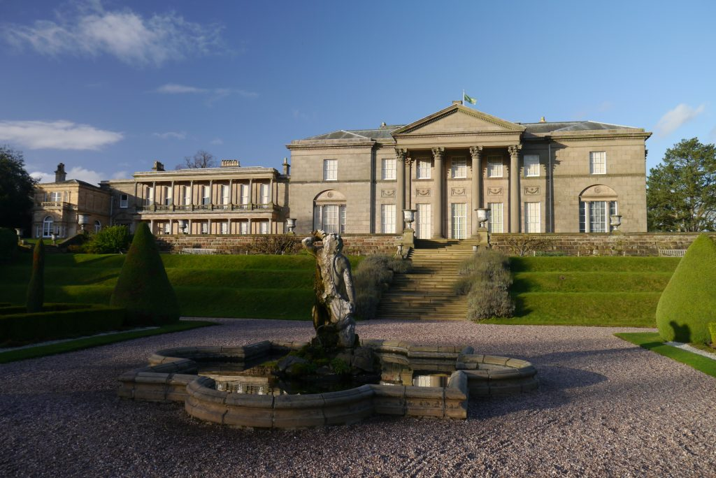 Tatton Hall and Park, a project by Buttress Architects