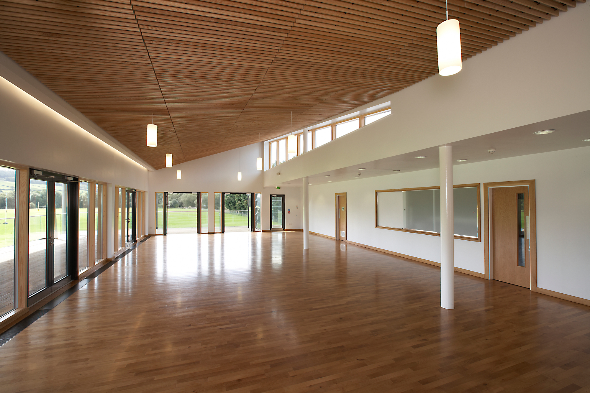 Monmouth School Sports Pavilion
