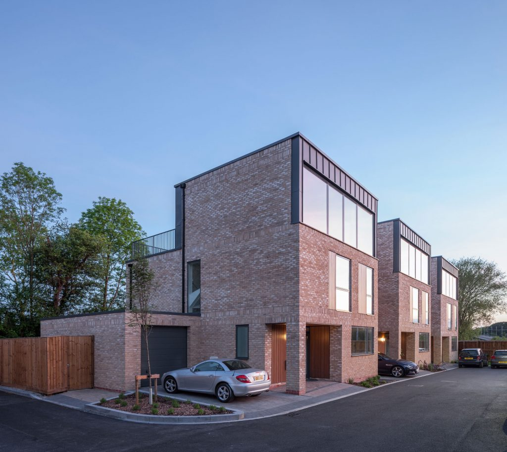 Chorlton Villas, a new residential development designed by Buttress Architects