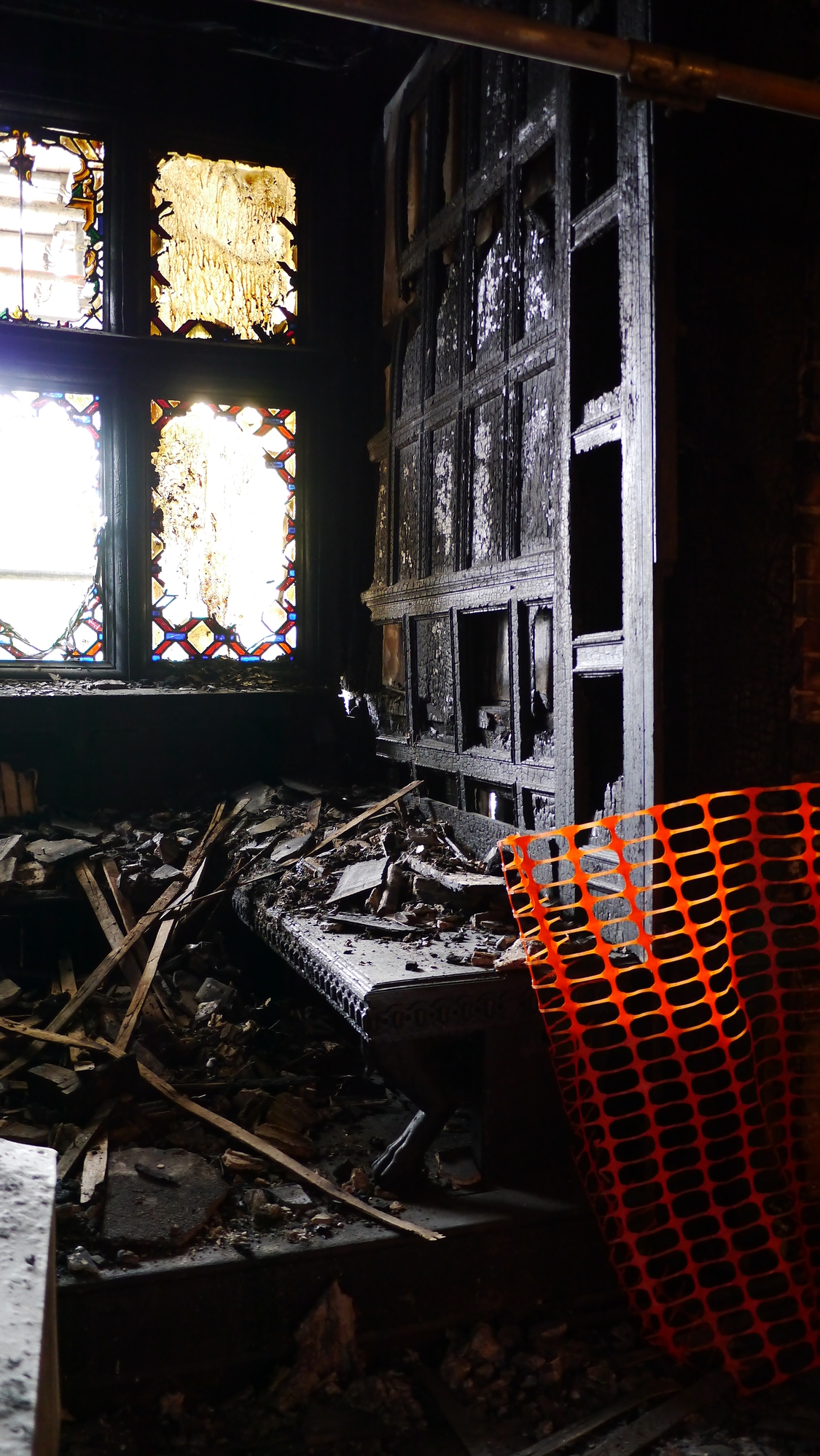 After the Fire: Restoring fire damaged historic buildings
