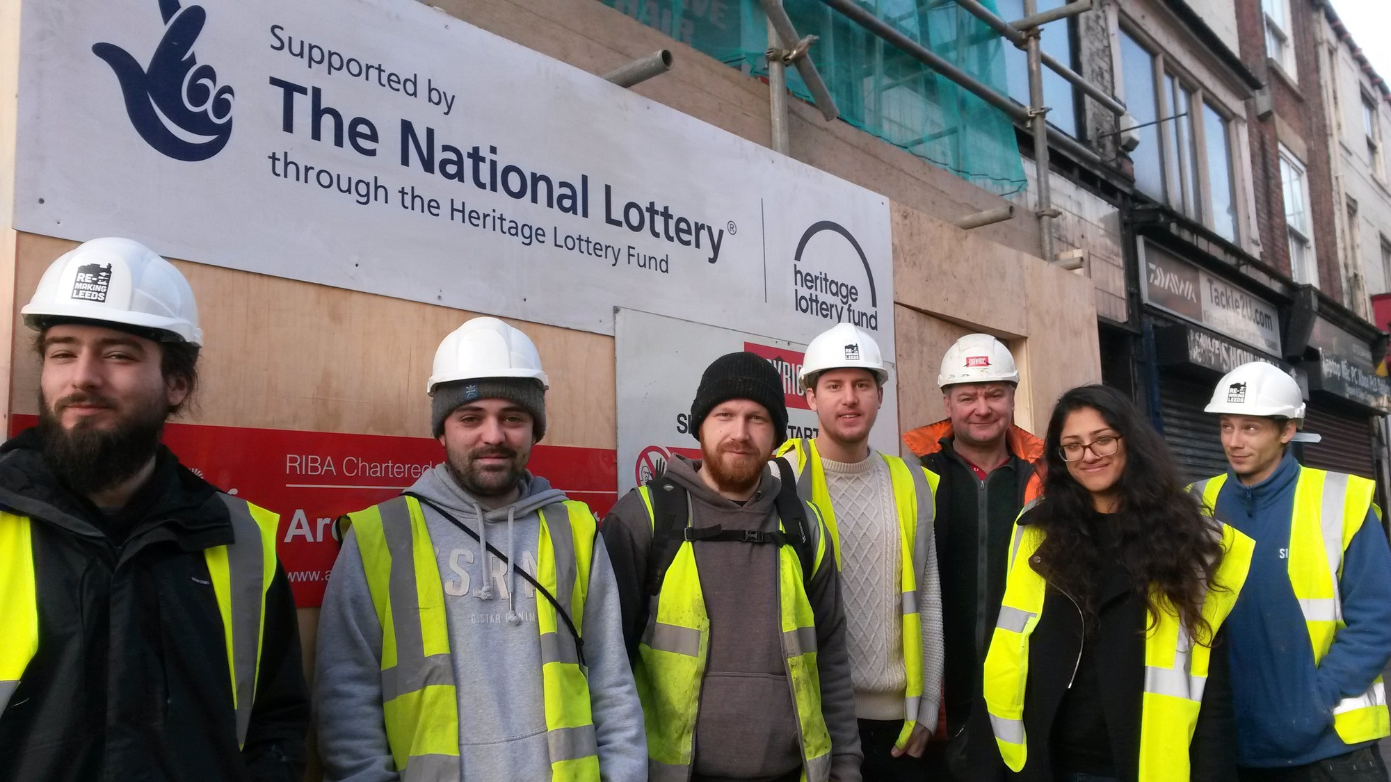 New heritage skills for architectural assistant