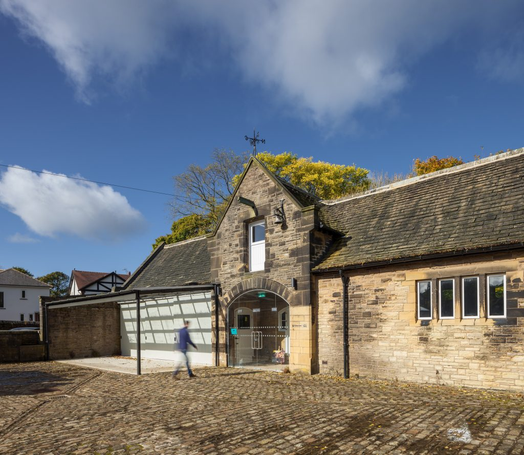 Haworth Art Gallery Artists' Studios, a project by Buttress Architects