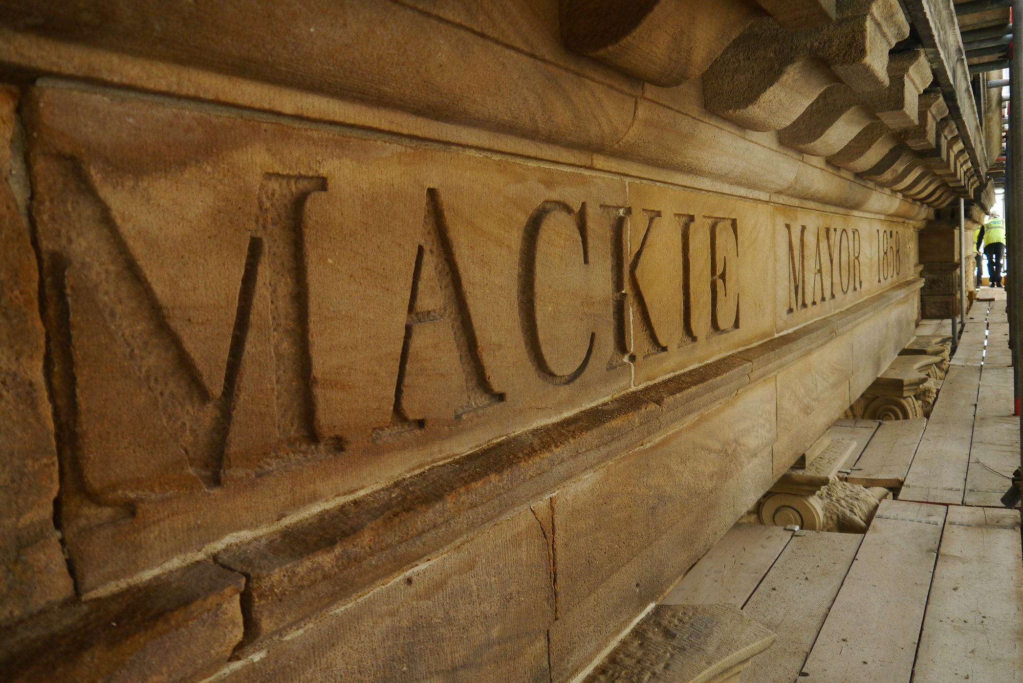 The Mackie Mayor