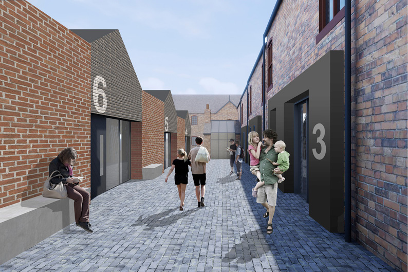 Harper Street Heritage Hub, designed by Buttress Architects