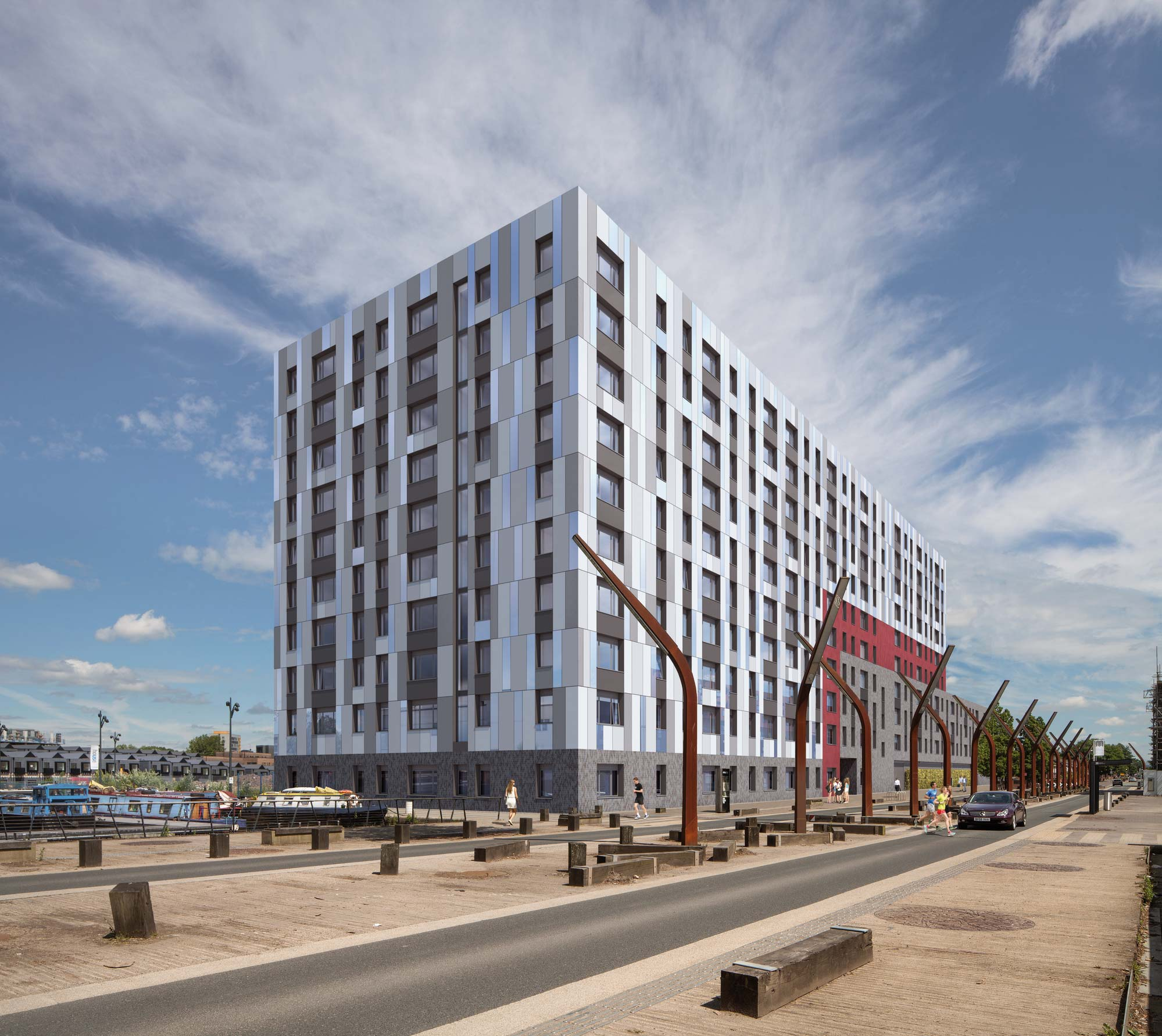 Apartment scheme in New Islington designed by Buttress Architects