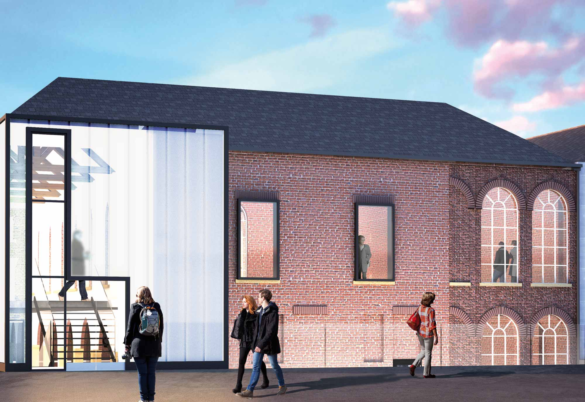 Work begins on First White Cloth Hall