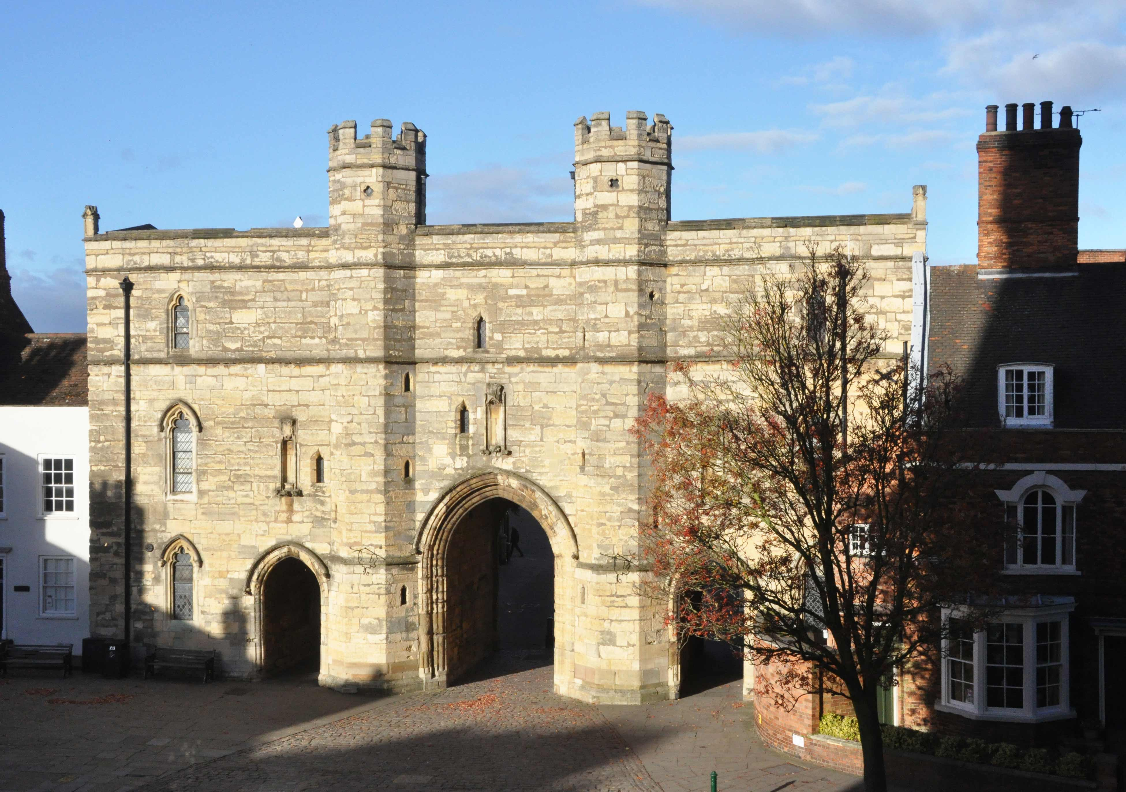 Conservation work underway to Lincoln Cathedral's Exchequergate Arch