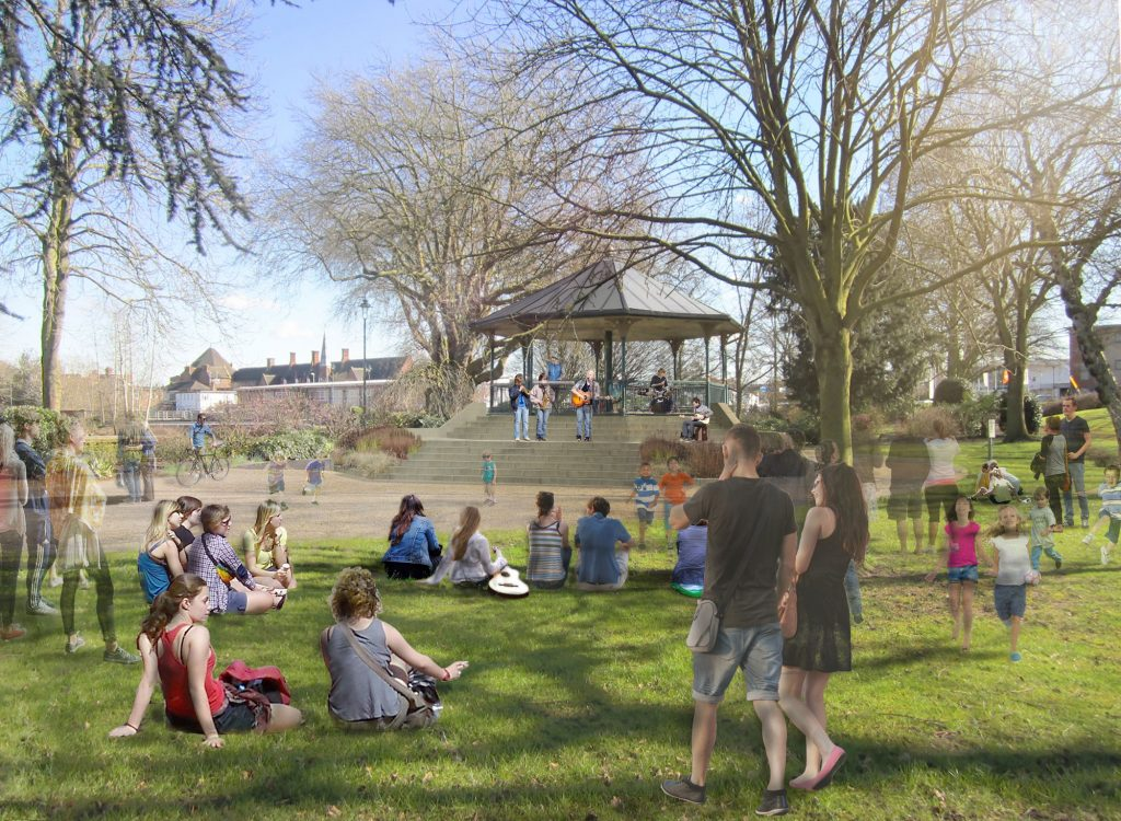 Work starts on Victoria Park restoration