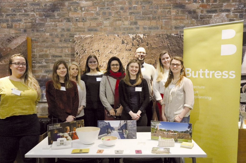 Buttress sponsors student bursary at the Heritage Trust Network annual conference