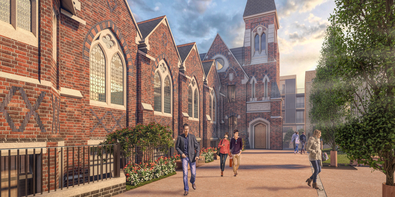 Plans submitted for St Joseph's Orphanage site