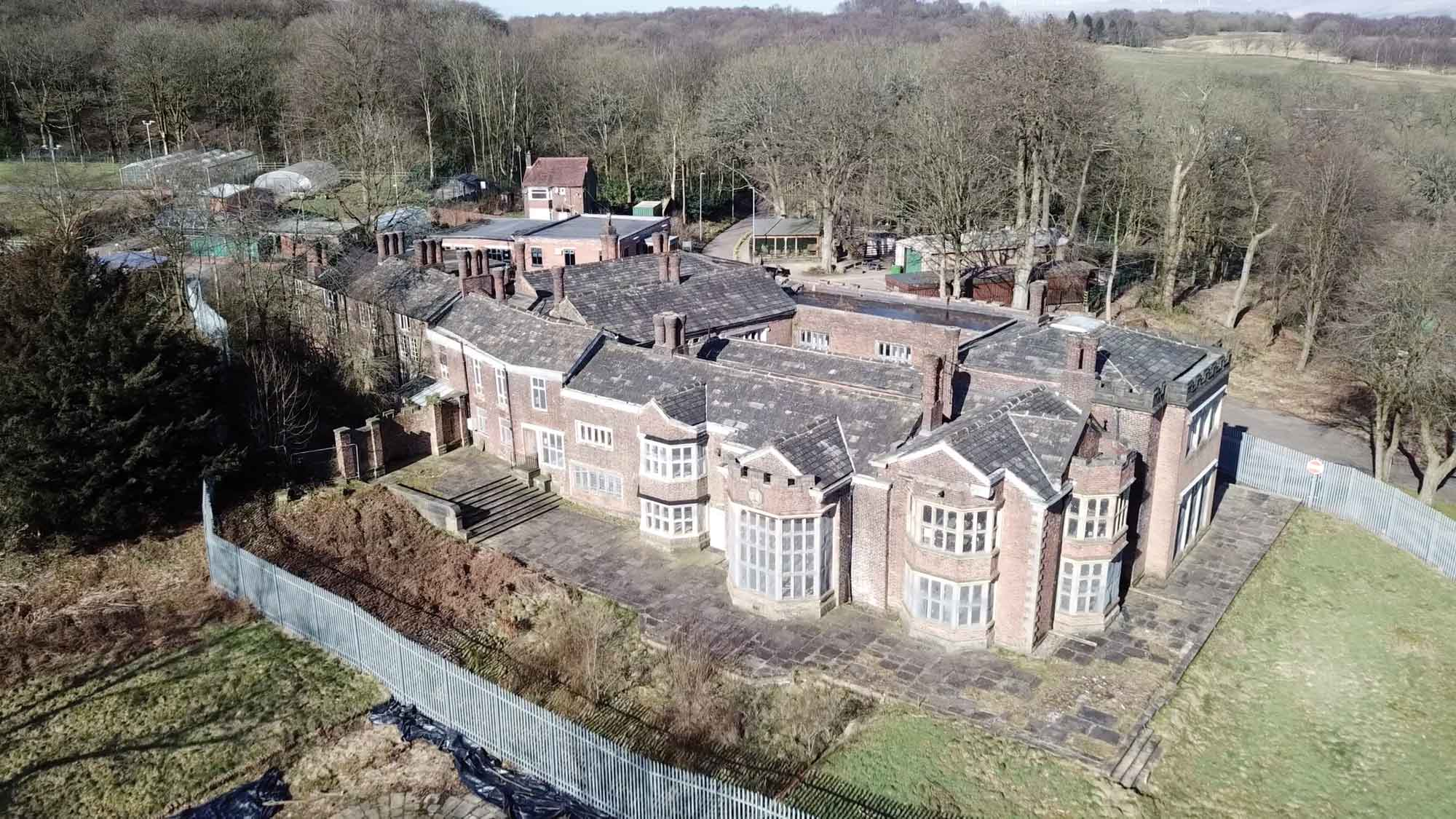 Second wave of emergency repairs underway at Hopwood Hall
