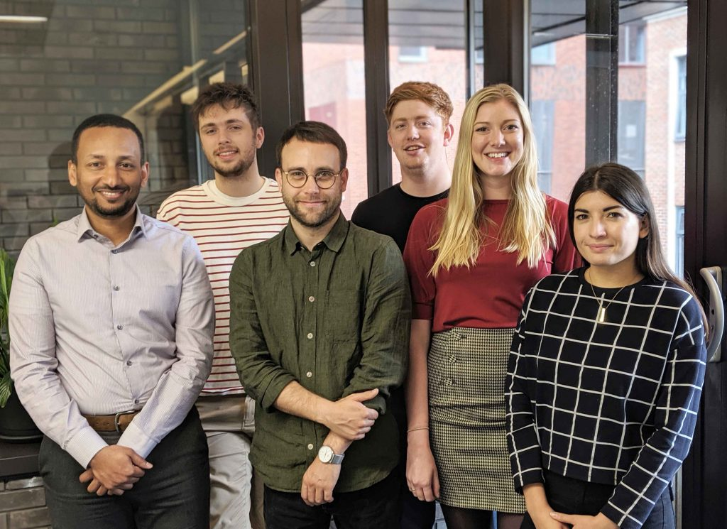 Buttress welcomes six new starters