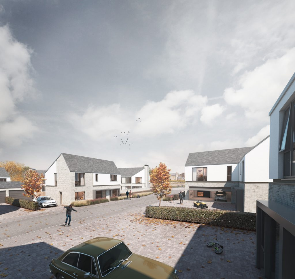 Plans submitted for 47 home development