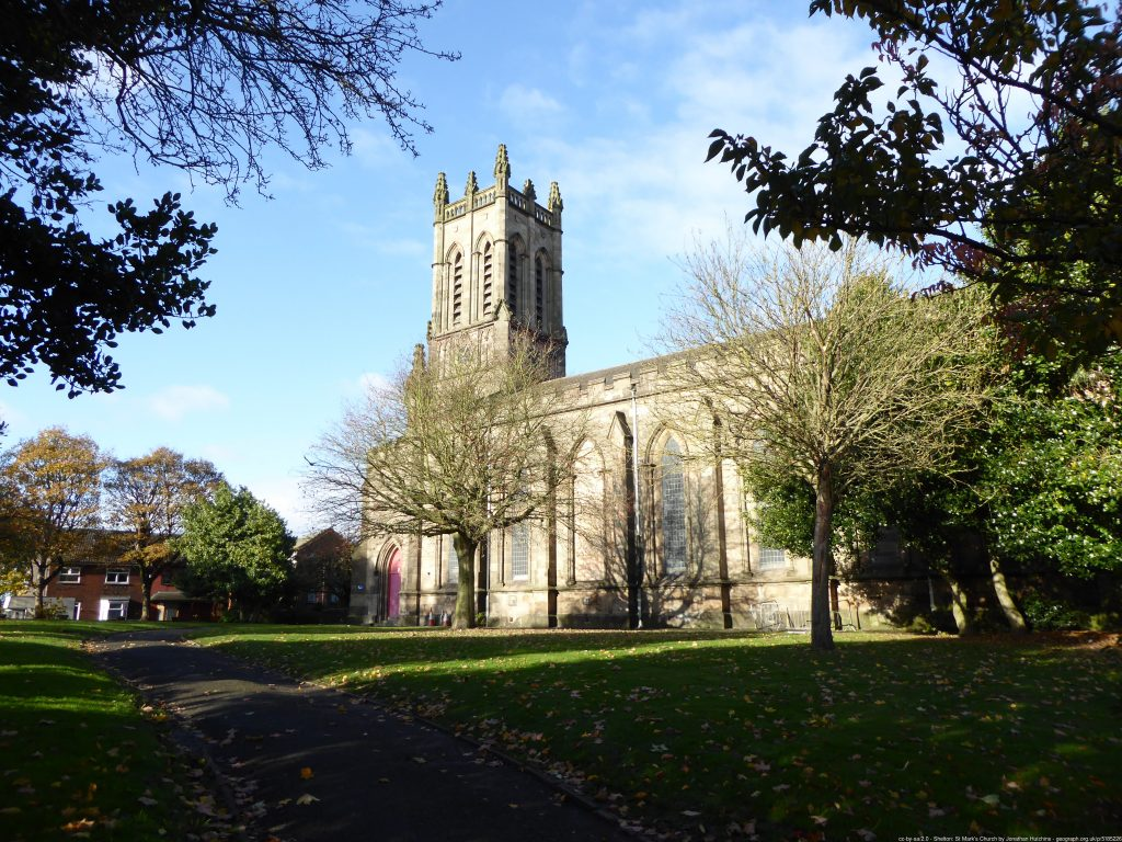 Buttress appointed to Heritage Fund project at St Mark's Church, Shelton