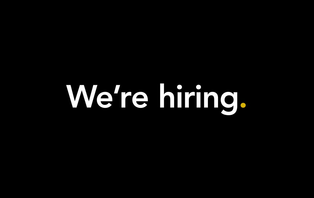 We're Hiring: Architect