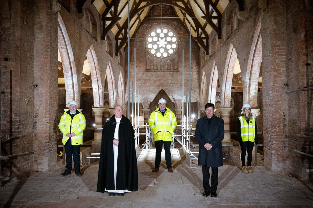 Work completes on first phase of Church of Ascension