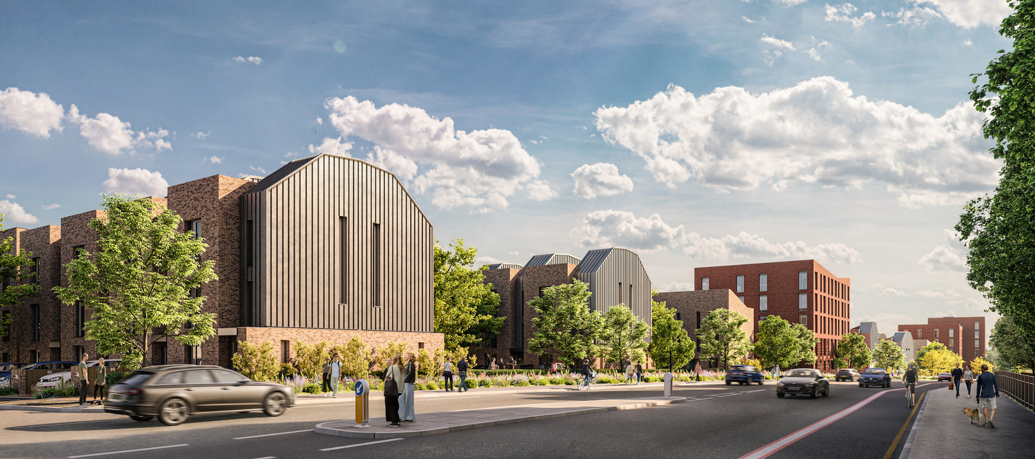 Plans submitted for Collyhurst regeneration